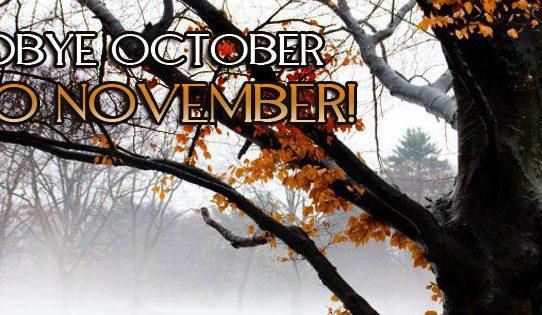 November köszöntő - belső munkával